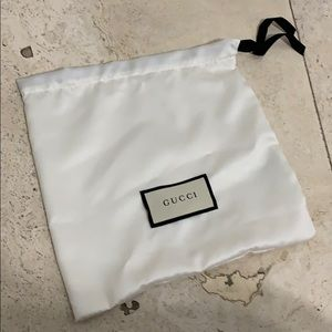 Gucci accessories pouch dust bag